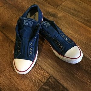 Converse All Star Chuck Taylor Frayless Slip Shoes